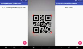 android qr scanner material barcode scanner uplabs