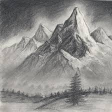 Related Keywords Suggestions For I - mountain landscape drawing mountain scene drawing related keywords