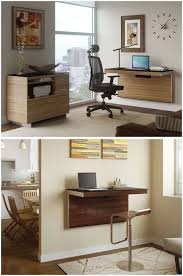 floating wall shelf desk these mounted wall desks save modern