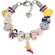european charm bracelet with charms for