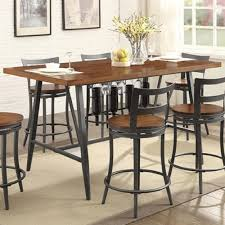 contemporary counter height table homelegance selbyville 5489wd 36 counter height table northeast
