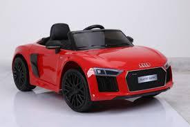 audi supercar convertible audi r8 spyder elektromobiliai vaikams