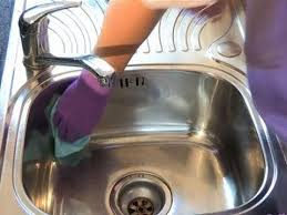 how to keep stainless steel sink shiny how to clean a stainless steel sink youtube