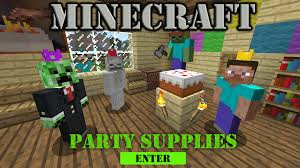 minecraft party supplies minecraft party supplies birthday party supplies