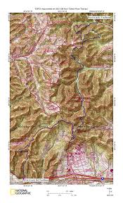 Table Rock Lake Map Science Club Hiking Trails
