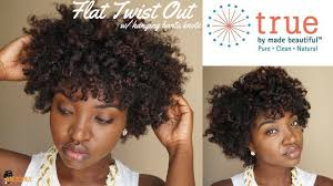 true hair flat twist out bantu knot ft true by made beautiful