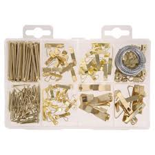 Hanging Pictures Kit Picture U0026 Mirror Hanging Fasteners The Home Depot