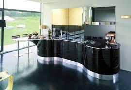 bar de cuisine moderne idee ilot cuisine beautiful brillant idee ilot central cuisine