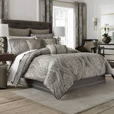 bedroom california king comforter sets with standing lamp and