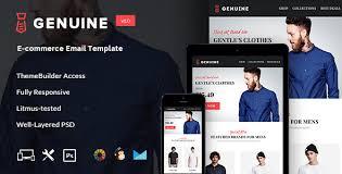 genuine e commerce e newsletter builder access by jeetug