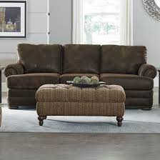 All Leather Sofas 6m05aln All Leather Sofa With Nailhead Trim
