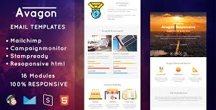 avagon responsive email templates