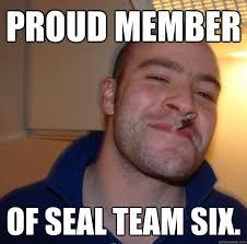 Six Meme - proud member of seal team six misc quickmeme