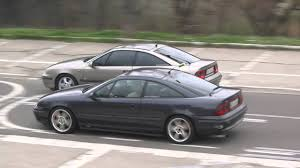 opel calibra turbo calibra 2 5 v6 vs calibra turbo youtube
