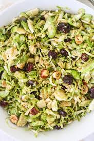 thanksgiving brussel sprout recipes shaved brussels sprouts with a maple balsamic vinaigrette