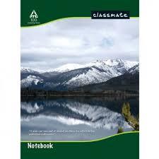 classmate copy classmate plain notebook student place