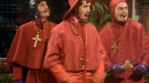 Spanish Inquisition Meme - monty python s flying circus face the press the spanish