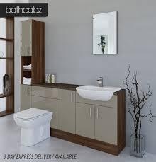 Bathroom Fitted Furniture Bathroom Furniture Us Fresh Metallic Latte American Walnut