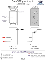 rocker switch wiring diagrams new wire marine simple boat diagram