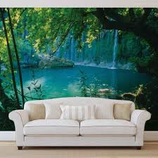 28 photo wall mural wall mural wallpaper nature jungle photo wall mural wall mural photo wallpaper xxl tropical waterfall lagoon