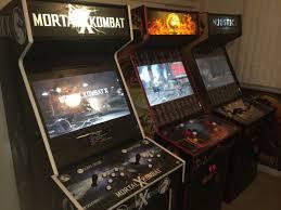 home theater cabinet fan get over here u0027mortal kombat x u0027 fan made arcade cabinet geekdad