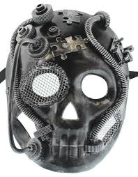 mens venetian masks buy redskytrader mens steunk robot skull venetian mask in cheap