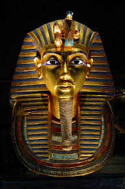 death mask of tutankhamun illustration ancient history