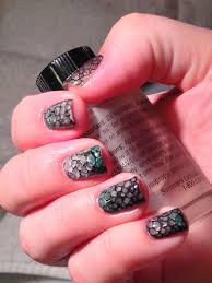lacquerish nail art for gel polish snakeskin