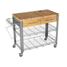 kitchen island with casters shop chris chris 40 in l x 20 in w x 35 in h kitchen