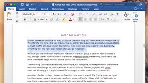 Home Design Suite 2016 Review Microsoft Office For Mac 2016 Review At Last A Modern Office For