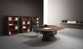 Walnut Office Desk Ola Executive Office Desk With Walnut Top Shop Italy