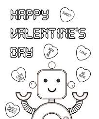 good valentines day coloring pages free printable regarding