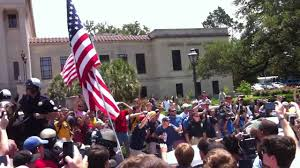 Flag Of Denver Lsu American Flag Burning Protest Youtube