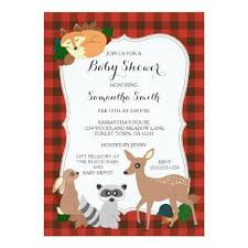 woodland creatures baby shower woodland baby shower invitations babyshowerinvitations4u