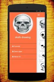 skull apk how to draw skull apk free design app for android