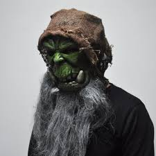 aliexpress com buy orcs guldan masks game movie cosplay prop