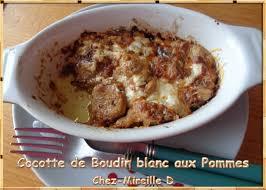 ghislaine cuisine cocotte de boudin blanc aux pommes recette ghislaine chez mireille d