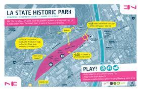 louisiana state map key downtown 7 la state historic park play the la river