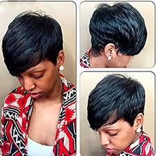 short cap like women s haircut amazon com deyngs sexy women s wig short straight pixie cut
