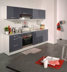 meuble de cuisine blanc brillant meuble de cuisine gris brillant compl te contemporaine blanche