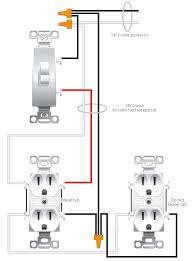 change switched outlet to ceiling light with wiring new fan