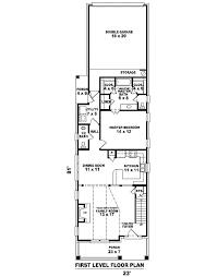 narrow house floor plans narrow house plans cottage within keysub me