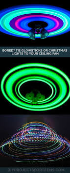 christmas sticks with lights cool diy projects for teen boys glow sticks fun diy and ceiling fans