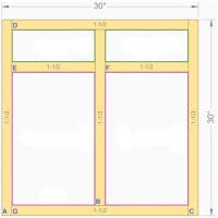 kitchen cabinet face frame dimensions standard sofa dimensions in cm www redglobalmx org