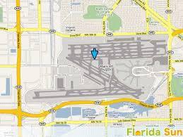 miami airport terminal map miami international airport rental car map