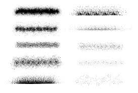 Font Spray Paint - free illustrator brushes spray paint stipple