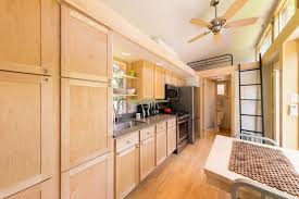 interior tiny houses wheels design house tiny home escape traveler kitchen