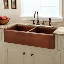 copper kitchen faucet kitchen with copper sink chrison bellina
