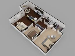 Modern Mansion Floor Plans by 2bhk Residential Modern House Floor Plan 3d Floor Plan