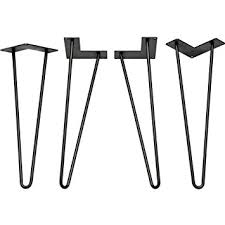 hair pin legs 6 inch hairpin legs for your diy project set of 4 legs of the 6